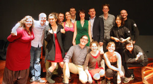 Cast of Love Shorts by Katharine Cameron