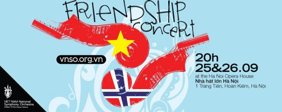 Friendship Concert Vietnam - Norway
