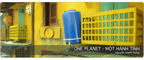Exhibition One Planet-Nguyen Manh Hung