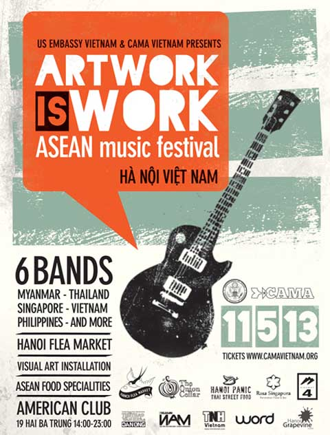 Art is work poster ENG