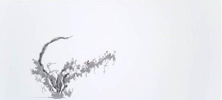 Hiroe Saeki Untitled, 2007 pencil, acrylic on paper, 82.0 x 179.0 cm