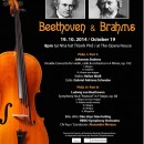 Concert Beethoven and Brahms