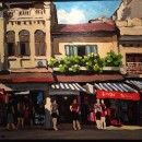 "Artwork ""Hang Dao street"" by Pham Luan"