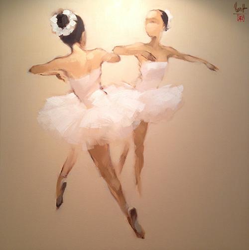 "Artwork ""Ballerina"" by Nguyen Thanh Binh"