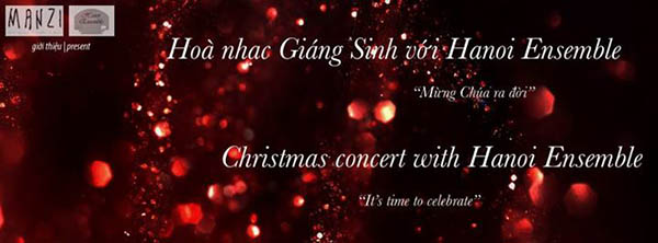 Christmas concert with Hanoi Ensemble
