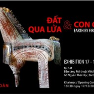 Nguyen Bao Toan-exhibition earth by fire and zodiac