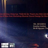 Screening Films from Musical Sound Design Course with Ad Van Dongen