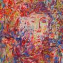 THANOM CHANTAKRUEA, Colourful No.1, 2014, 50 x 60 cm, acrylic on canvas