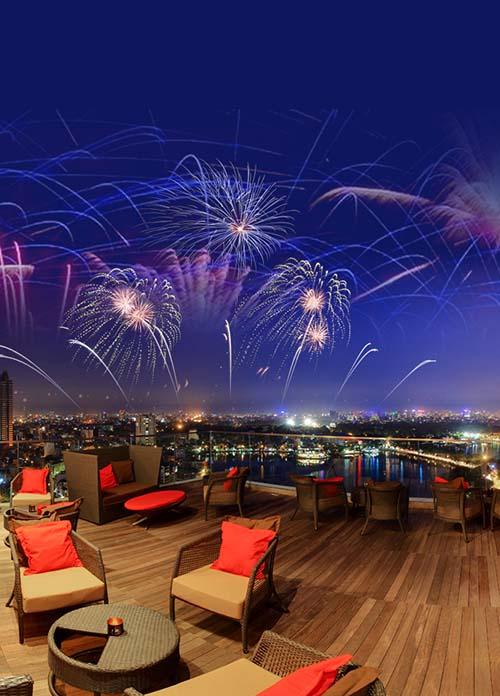 Lavish Fireworks Party -Sofitel Plaza Hanoi