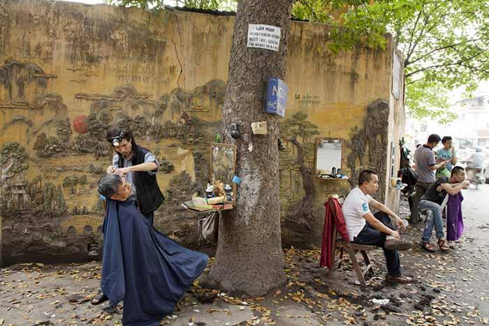 Barber Shop Grapevine : Photo Exhibition at Art Vietnam Gallery ?Vietnam  25 Years ...