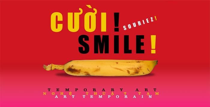 Exhibition Smile Temporary Art