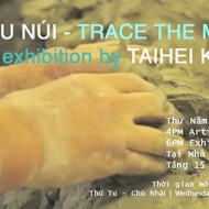 Exhibition Trace The Mountain by Artist Taihei Kimura