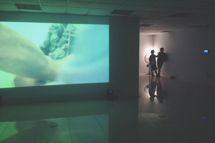 """Exhibition """"Trace The Mountain"""" by Japanese artist Taihei Kimura at Nhà Sàn Collective"""