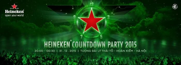 Heineken Countdown Party 2015