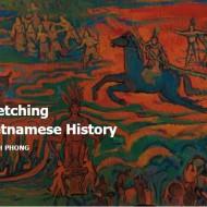 exhibition Sketching Vietnamese History-quach phong