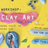 Workshop Polymeric Clay Art and Jewelry Creations for Kids