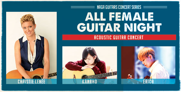all-female-guitar-night