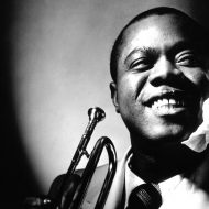 American singer/composer Louis Armstrong, one of the most  influential figures in jazz. Photo from thisisyearone.com