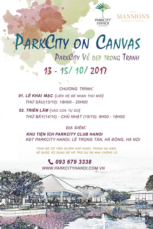 parkcity-on-canvas-poster