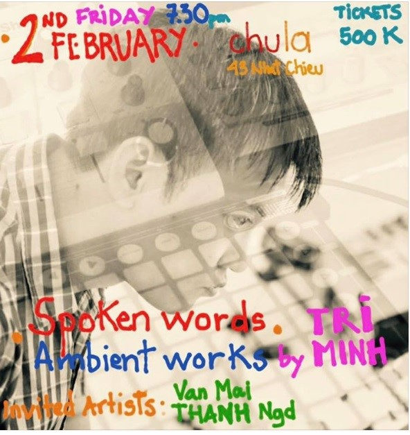 performance spoken words ambient works by tri minh hanoi grapevine
